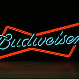 BUDWEISER ROTULO  Ref 1000-1LED