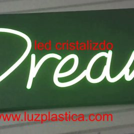 Rótulos neón led-cristal DREAM  REF2079LED