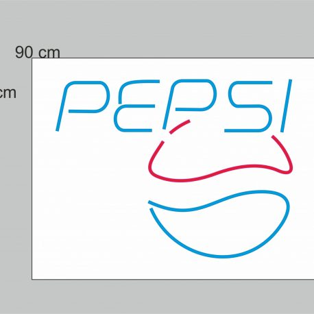 PEPSI SIMPLE WEB NEON FLEX